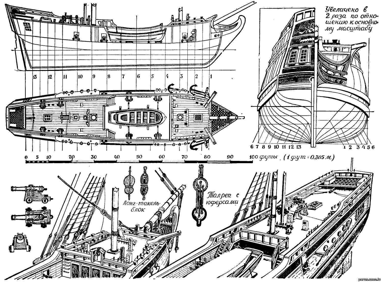 Чертежи Модели Кораблей